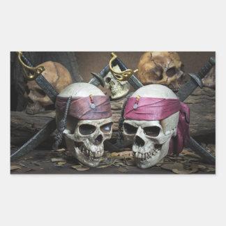 Pirate Skulls stickers