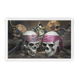 Pirate Skulls trays
