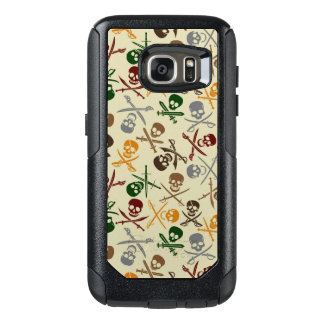 Pirate Skulls with Crossed Swords OtterBox Samsung Galaxy S7 Case