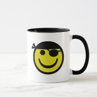 Pirate Smiley Mug