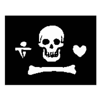 pirate-stede-bonnet post card