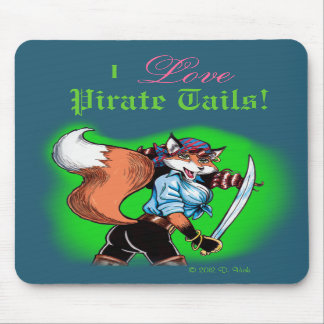 Pirate Tails Mousepad