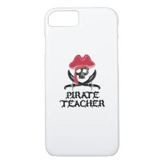 Pirate Teacher-Jolly Roger Skull Crossbones iPhone 8/7 Case