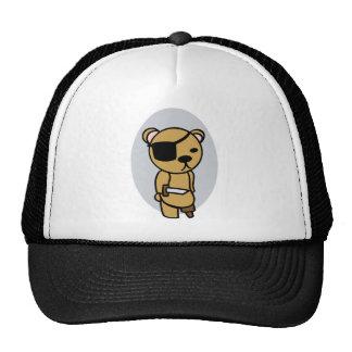 Pirate Teddy Bear Trucker Hat