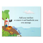 Pirate Thank You Card