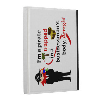 Pirate trapped in a businessman's body iPad cases