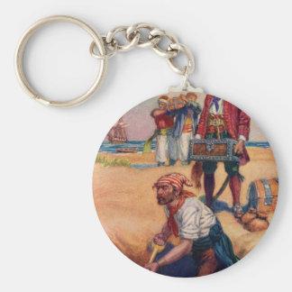 Pirate Treasure Keychain