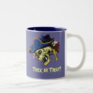 Pirate, Trick or Treat? Coffee Mug