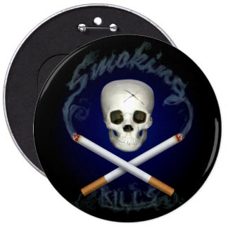 Pirate With A Cause 6 Inch Round Button