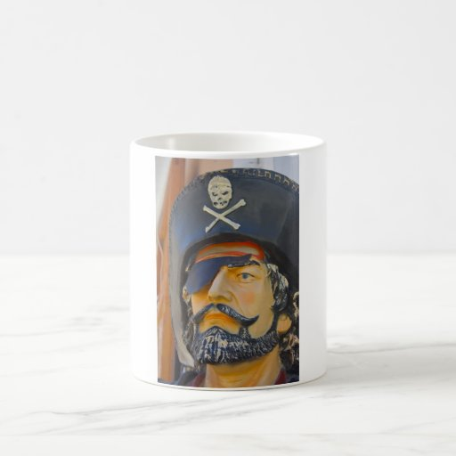 Pirate with Beard and Eye Patch Mug