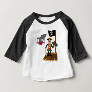 pirate with the parrot baby T-Shirt