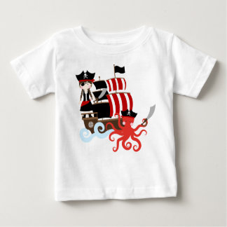 Pirate World Baby T-Shirt