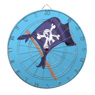 Piratenfahne pirate flag dartboard