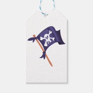 Piratenfahne pirate flag gift tags