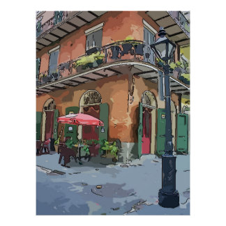 Pirates Alley Cafe, New Orleans Poster