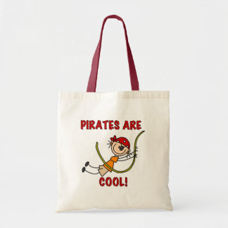 Pirates Are Cool Tote Bag