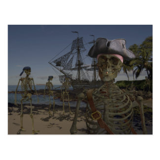 Pirates Curse Postcard
