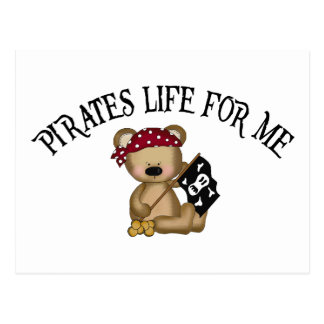 Pirates Life For Me Post Cards