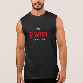Pirates music sleeveless shirt