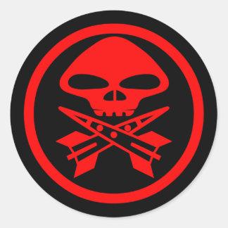 Pirates of Antares Classic Round Sticker