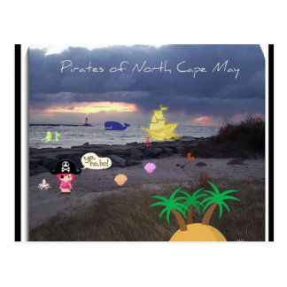 Pirates of North Cape May Postcard
