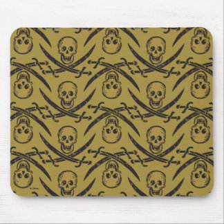 Pirates of the Caribbean 5 | Beware - Pattern Mouse Pad
