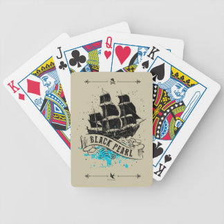 Pirates of the Caribbean 5 | Black Pearl Bicycle Playing Cards