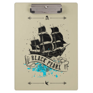 Pirates of the Caribbean 5 | Black Pearl Clipboard