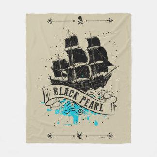 Pirates of the Caribbean 5 | Black Pearl Fleece Blanket