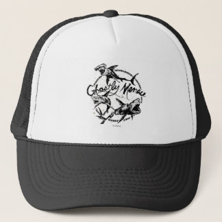 Pirates of the Caribbean 5 | Ghostly Menace Trucker Hat