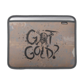 Pirates of the Caribbean 5 | Got Gold? MacBook Sleeve