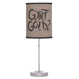 Pirates of the Caribbean 5 | Got Gold? Table Lamps