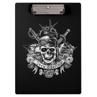 Pirates of the Caribbean 5 | Jack Sparrow Skull Clipboard