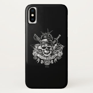 Pirates of the Caribbean 5 | Jack Sparrow Skull iPhone X Case