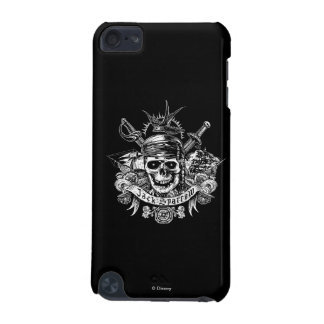 Pirates of the Caribbean 5   Jack Sparrow Skull iPod Touch 5G Case