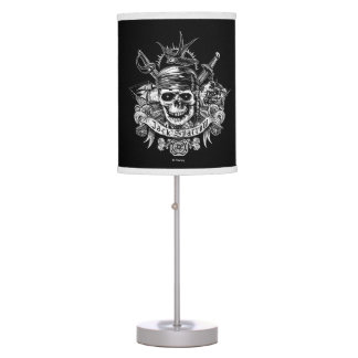 Pirates of the Caribbean 5 | Jack Sparrow Skull Table Lamp