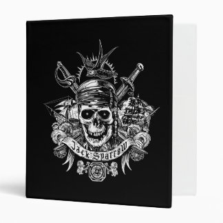 Pirates of the Caribbean 5 | Jack Sparrow Skull Vinyl Binders