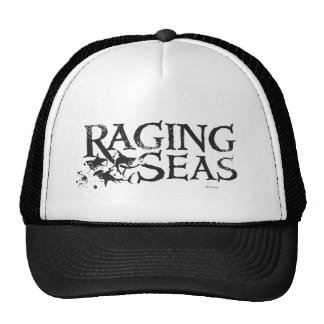 Pirates of the Caribbean 5 | Raging Seas Black Trucker Hat