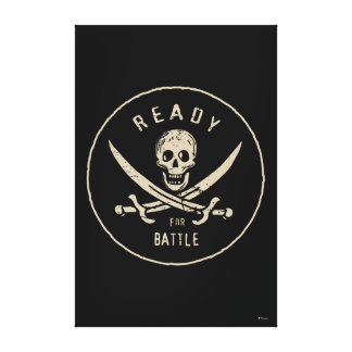 Pirates of the Caribbean 5 | Ready For Battle Canvas Print