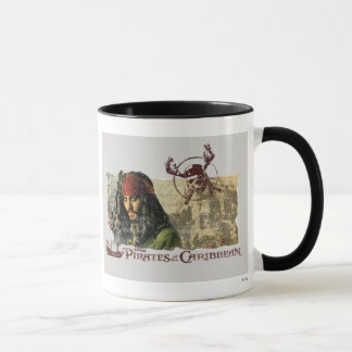 Pirates of the Caribbean Movie Art Disney Mug