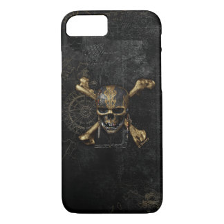 Pirates of the Caribbean Skull & Cross Bones iPhone 8/7 Case