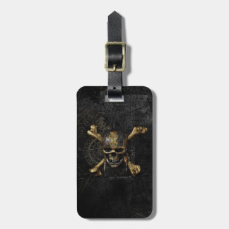 Pirates of the Caribbean Skull & Cross Bones Luggage Tag