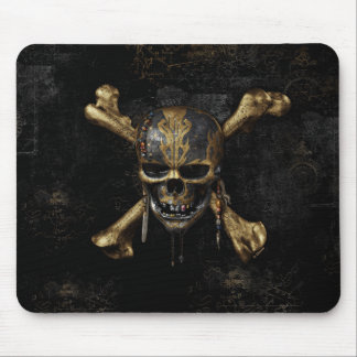 Pirates of the Caribbean Skull & Cross Bones Mouse Pad