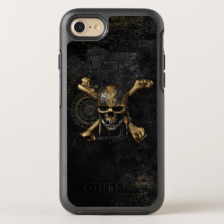 Pirates of the Caribbean Skull & Cross Bones OtterBox Symmetry iPhone 8/7 Case