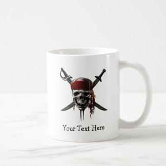Pirates of the Caribbean Skull Logo Coffee Mug