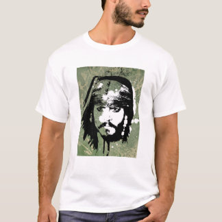 Pirates of the Caribbean's Jack Sparrow Grunge T-Shirt