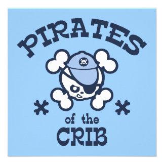 Pirates of the Crib Personalized Invite
