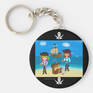 Pirates of the Hinterland Keychain