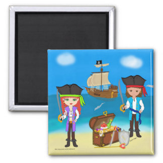 Pirates of the Hinterland Magnet