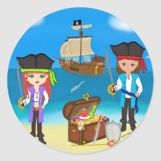 Pirates of the Hinterland Stickers